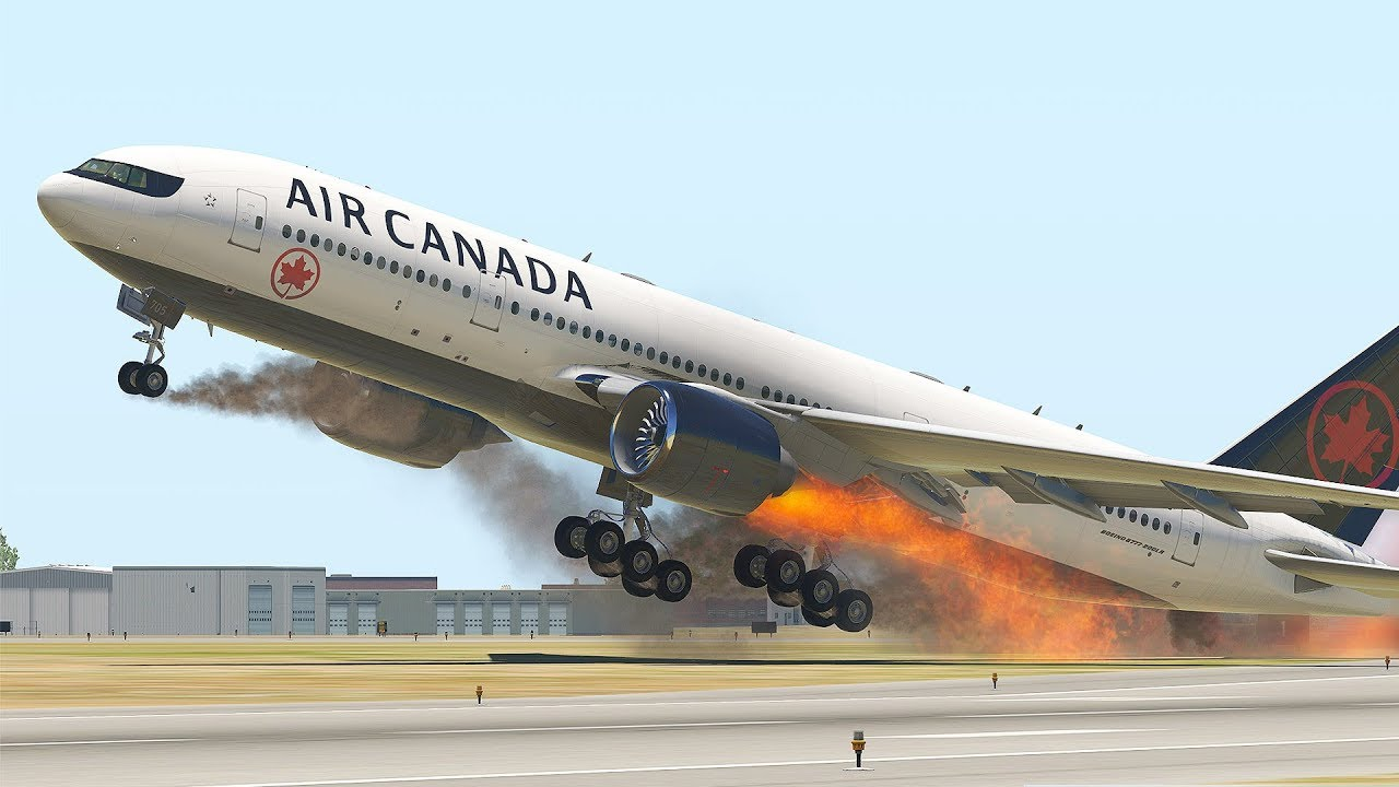 Most Horrible Emergency Landing Ever in X-Plane 11