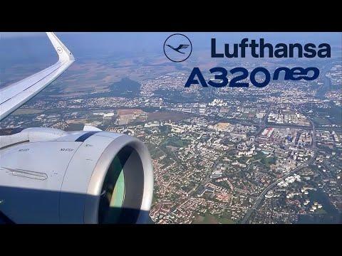 Lufthansa [Business] Airbus A320neo 🇩🇪 Frankfurt FRA - Paris CDG 🇫🇷  + lounge [FULL FLIGHT REPORT]