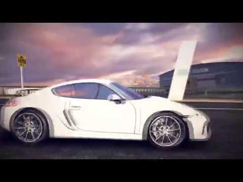 Asphalt8 - Porsche Cayman GT4 (San Diego Harbor Credit Farming)