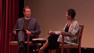 An interview with Elizabeth Rosner at Grace Cathedral in San Francisco