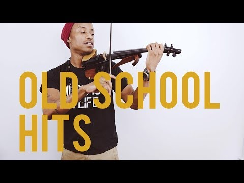 Violinist throws down on some Old School hits