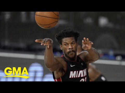 NBA star Jimmy Butler and the Miami Heat dominate the court