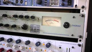 Neumann U87ai   vs   Neumann TLM 102   (Feat. the Neve Portico 2 and RME UFX)