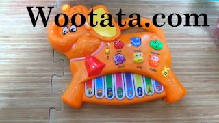 Mainan Musik Piano Untuk Balita Berbentuk Gajah