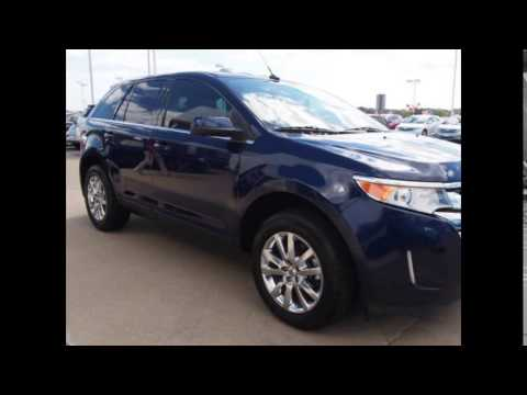 Ford Edge Kona Blue