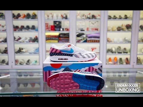 finest selection 22b9c 961ba UNBOXING  Parra x Nike Air Max 1