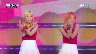 [First No.1] Red Velvet (레드벨벳) - Russian Roulette (러시안 룰렛)  (Sep 13, 2016)