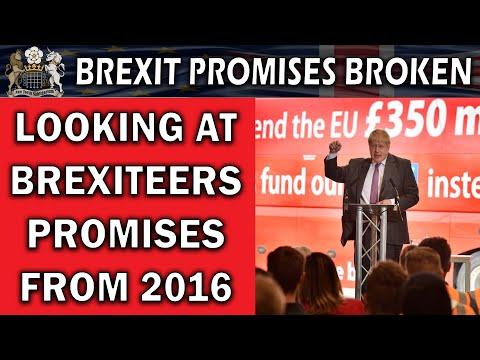2016 Brexit Promises