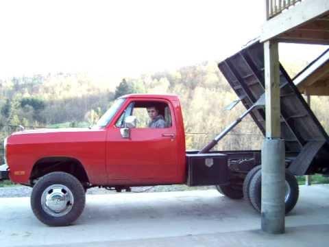 1992 cummins dump bed youtube - Dump truck twin bed ...
