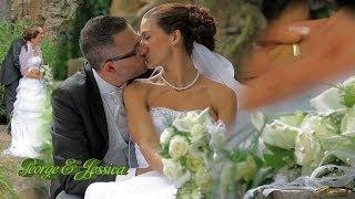 George & Jessica свадьба во Франкфурте на Майне