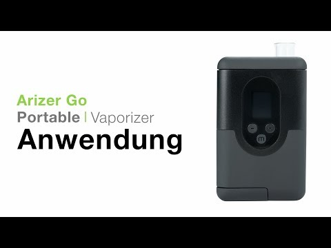 Arizer Go (ArGo) Vaporizer Verdampfer Anwendung – TVape