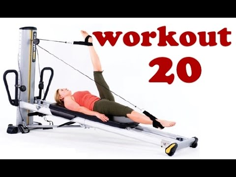 Pilates Workout for Total Trainer & Reformer No.20 (by Ultimate Pilates, Sydney)