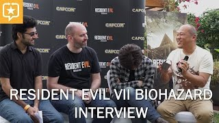 Interview with Koshi Nakanishi and Masachika Kawata - Resident Evil 7 Biohazard - Dubai, UAE