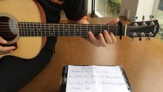 Hướng dẫn đệm đàn guitar Anh Cứ Đi Đi ( Kien Tran )
