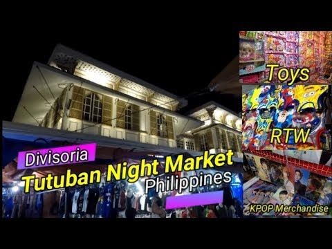 Night Market -Tutuban Night Market in Manila,Philippines