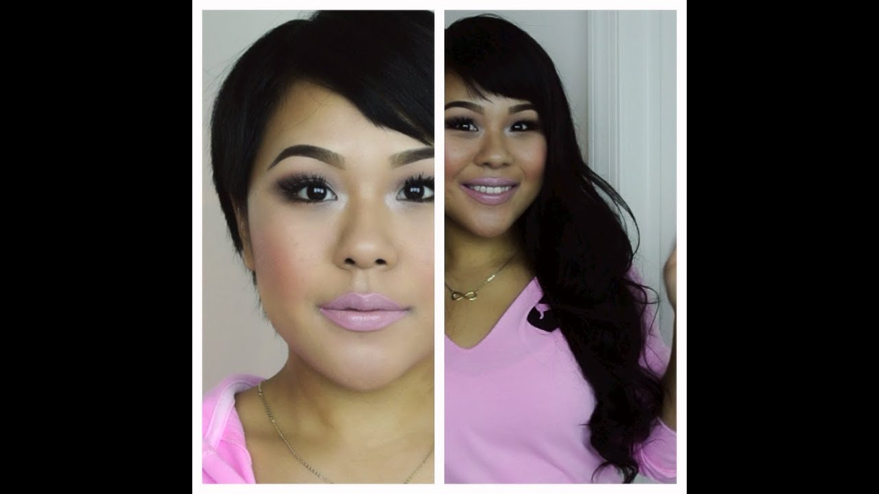 How To Clip In Hair Extensions For Very Short MyPinkVanity And HairExtensionSale