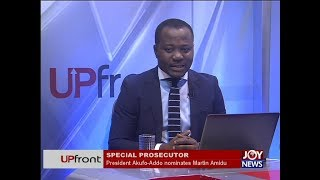 President Akufo-Addo nominates Martin Amidu - UPfront on JoyNews (11-1-18)