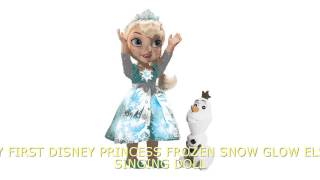 Disney Frozen Snow Glow Elsa Singing and Light Up Doll Toy Review