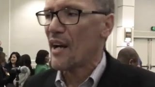 WATCH: DNC Chair Candidate Tom Perez Awkwardly Defends TPP—Falls Flat on His Face