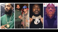 TI  And Meek Mill Disagree With Wack100 And Say Nipsey Hussle A Legend