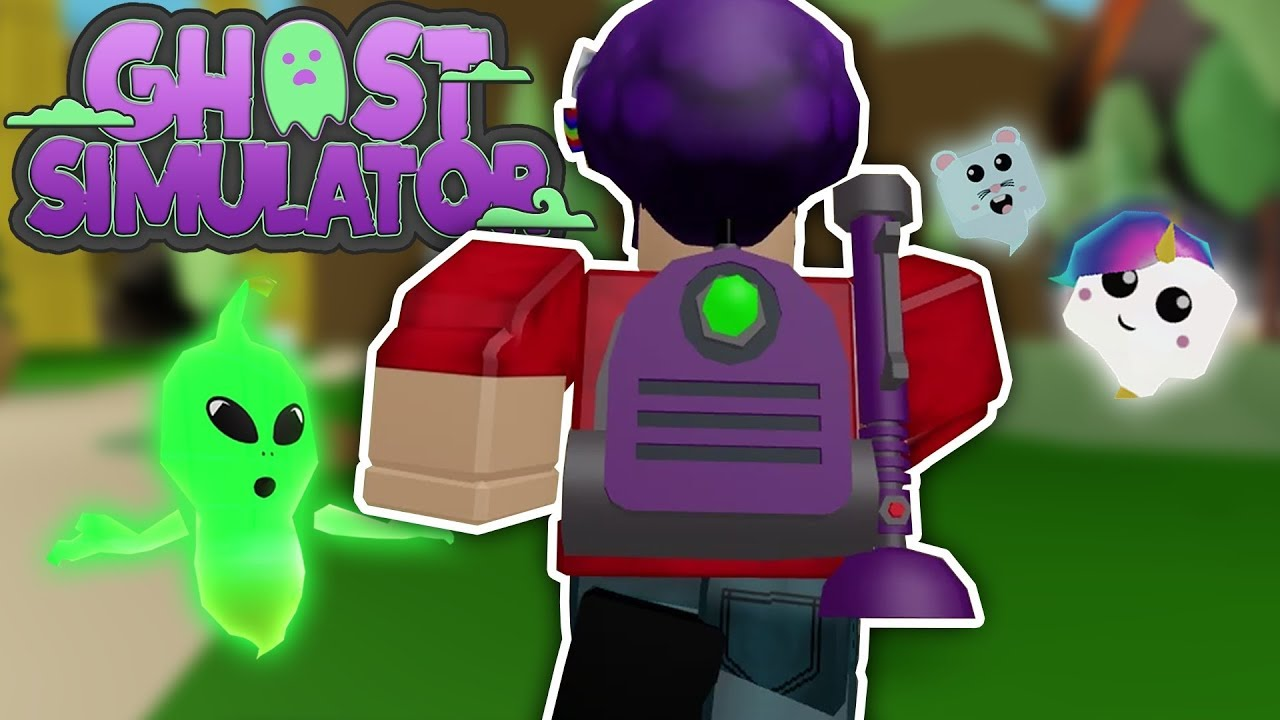 Playing Roblox Ghost Simulator Youtube