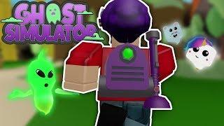 Playing Roblox Ghost Simulator!