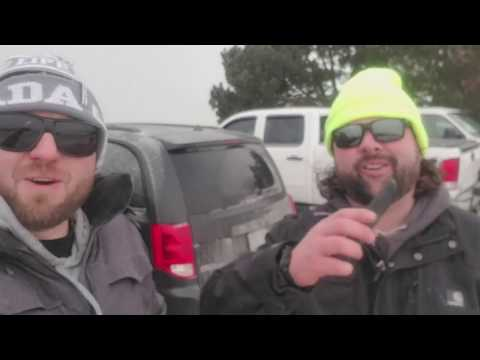 Off the Dock, episode one - Frenchman Bay Ice fishing 2018