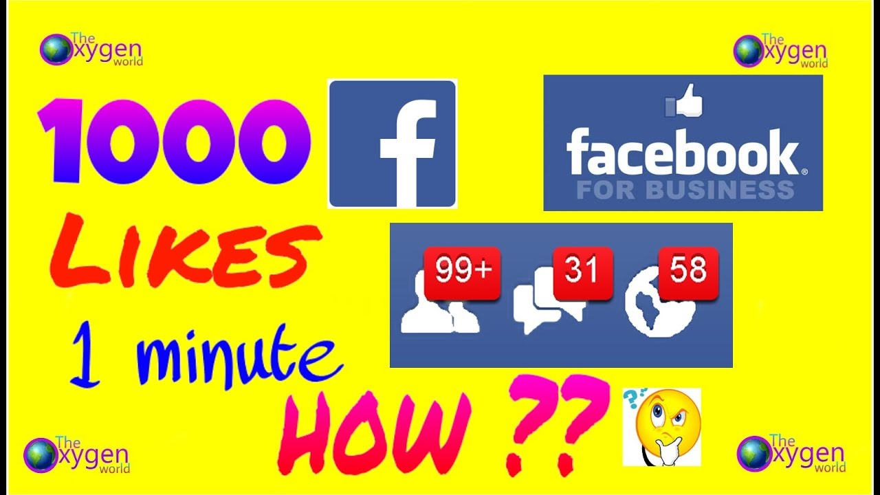 1000 Likes On Facebook Post Within 1 Minute No Apps Required