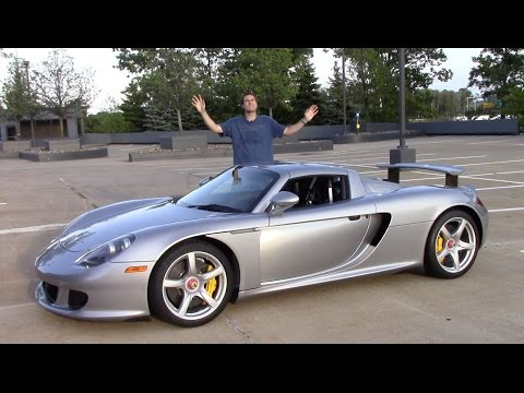 Here's Why the Porsche Carrera GT Is the Greatest Car Ever Made