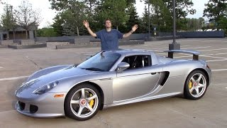 The Porsche Carrera GT Is an Amazing Supercar