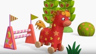 Деревяшки - Кукушка - развивающие мультфильмы для самых маленьких 0-4 HD