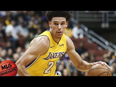 Lonzo Ball Full Highlights vs LA Clippers / Week 1 / LA Lakers vs LA Clippers / 2017 NBA Season