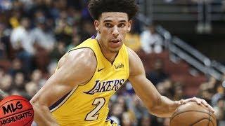 Lonzo Ball Full Highlights vs LA Clippers / Week 1 / LA Lakers vs LA Clippers / 2017 NBA Season