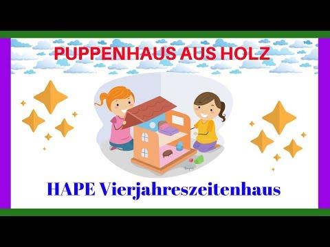 Puppenhaus Aus Holz 🔴 Anleitung Aufbau Vierjahreszeitenhaus