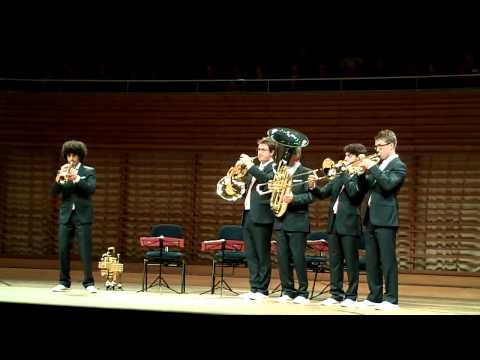 Canadian Brass a Lucerna - 28 Settembre 2011 - Galliard Battaglia