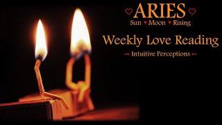 ARIES - AUGUST 12-18 2018 LOVE TAROT READING
