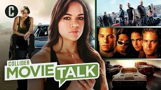 Michelle Rodriguez Demands Fast and Furious 9 Add a Female Writer and Wins! - Movie Talk