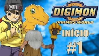 DIGIMON WORLD #1 - O Início da Jornada / Bem Vindo ao DIGIMUNDO!! (PS1)