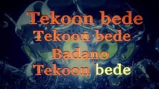 Arash - Tekoon Bede (Lyrics ) Resimi
