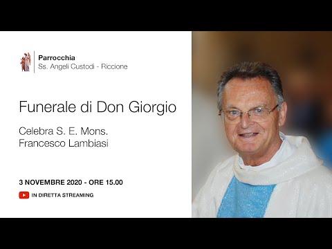 Funerale di Don Giorgio