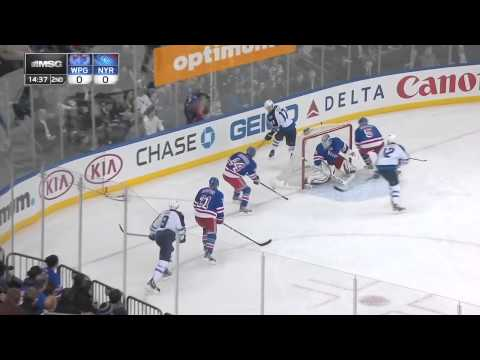 Ryan Callahan Incredible Shift vs. Jets 2/26/2013