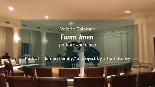 Fanmi Imen for flute and piano (Valerie Coleman)