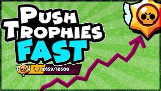 How to gain Trophies FAST in Brawl Stars Guide | Tips and Tricks
