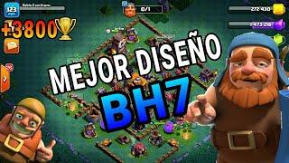 INCREÍBLE DISEÑO BH7(+3800)| Clash of Clans| Taller Constructor |+3800 Copas