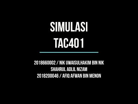 TAC401 - Simulasi Arab