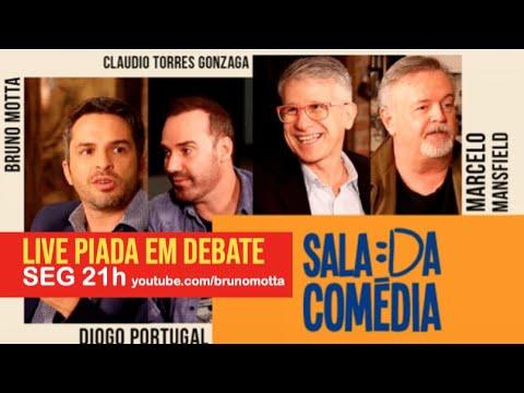 LIVE: PIADA EM DEBATE #4 - SALA DA COMÉDIA com Diogo Portugal, Marcelo Masnfield, Claudio Torres