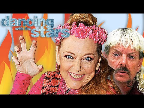 Carole Baskin RUINS Dancing With The Stars