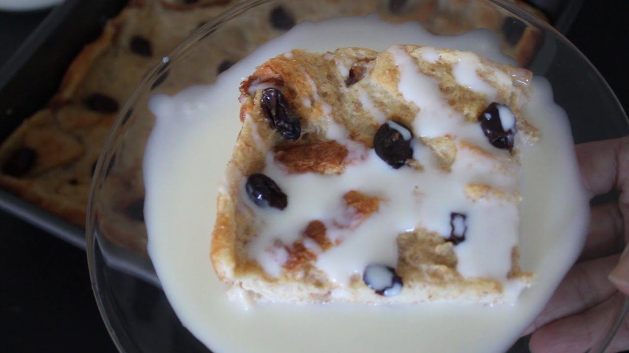 Image result for Puding Roti Tawar