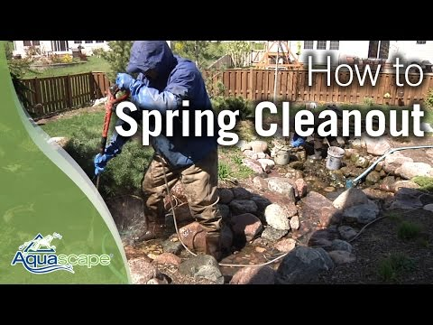 Aquascape's Spring Cleanout How To