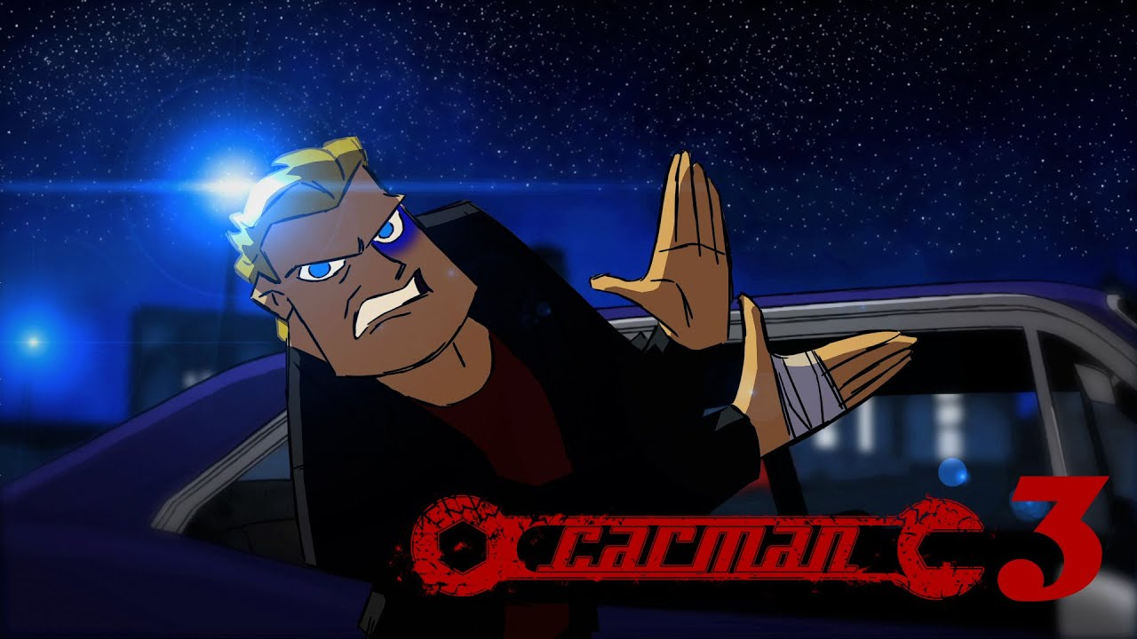 CARMAN - The Road Rage Anti-Hero - Part 3 - 'Animating Dialogue' Tutorial!